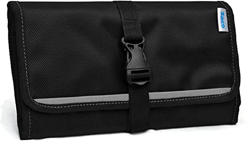 Saco Gadget Organizer Bag For All Gadgets Accessories Organiser Universal Travel Bag Go Bag Universal Travel Kit Organizer For Small Electronics And Accessories Other Digital Devices Grey
