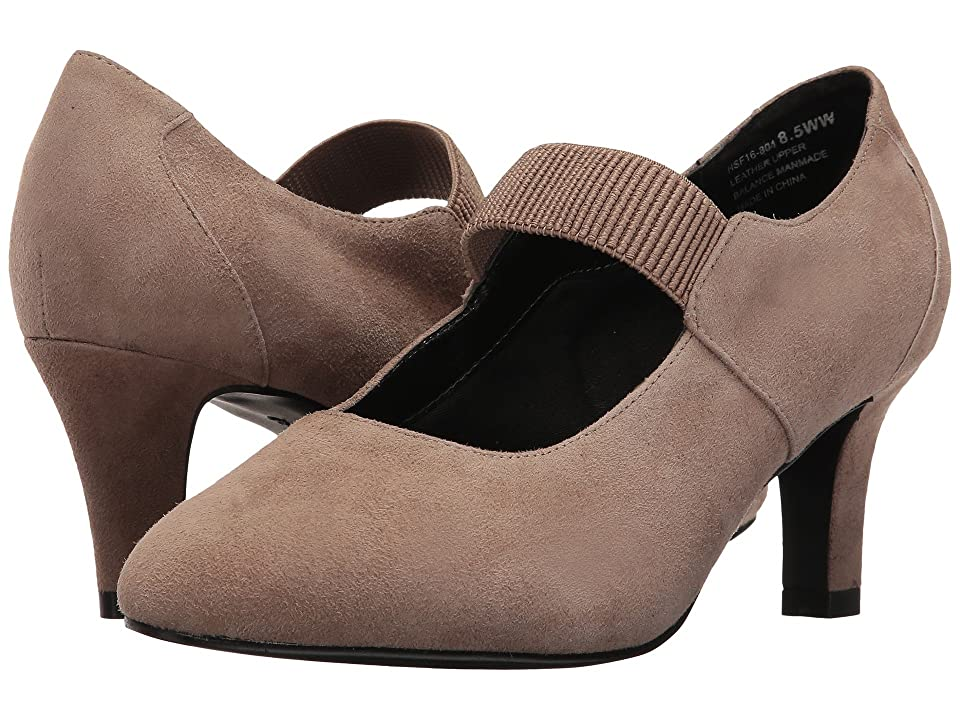 David Tate Dixie (Taupe Suede) Women