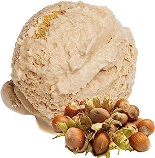 Sabor de avellana 1 Kg Helado de Gino Gelati Polvo para helado de leche Polvo de helado suave Polvo de helado