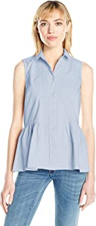 french connection blue peplum dress