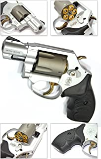 タナカ 【モデルガン】S&W スミス&ウェッソン M360 SC スカンジウム .357マグナム 1-7 / 8インチ セラコートフィニッシュ 発火モデルガン TANAKA Smith & Wesson M360SC .357MAG【付属品:LEDダイナモライト・ガンキーホルダー】