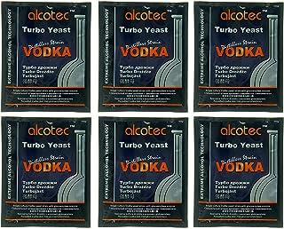 Alcotec Vodka Turbo Yeast (Pack of 6)