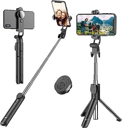 Cell phone selfie sticks