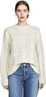 J.O.A. Womens BC9037 Classic Cable Knit Sweater Pullover Sweater