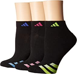 Cushioned Variegated Low Cut Socks 3-Pack