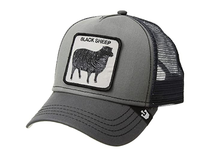Goorin Brothers  Animal Farm Snap Back Trucker Hat (Grey Shades of Black) Caps