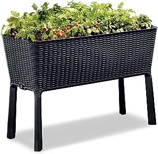 self watering raised planter box