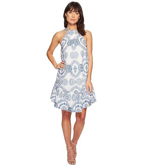 Kori Dress, Whitewash/Blue Astor