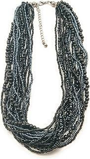 DCA Black Glass Women Necklace (4188)