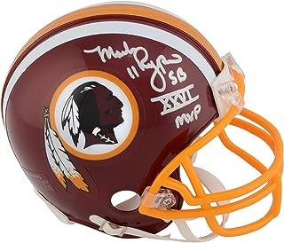 redskins autographed mini helmets