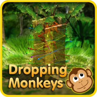 Dropping Monkeys 3D Board Game