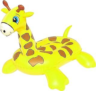Giraffe Pool Float for Kids, Yellow, 41082