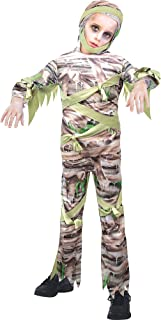 Slimy Mummy Costume for Kids, Small (4-6)- 1 pc.