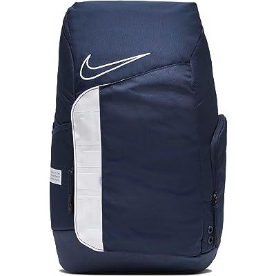 Nike Hoops Elite Pro Backpack (Midnight Navy/White/White) Backpack Bags
