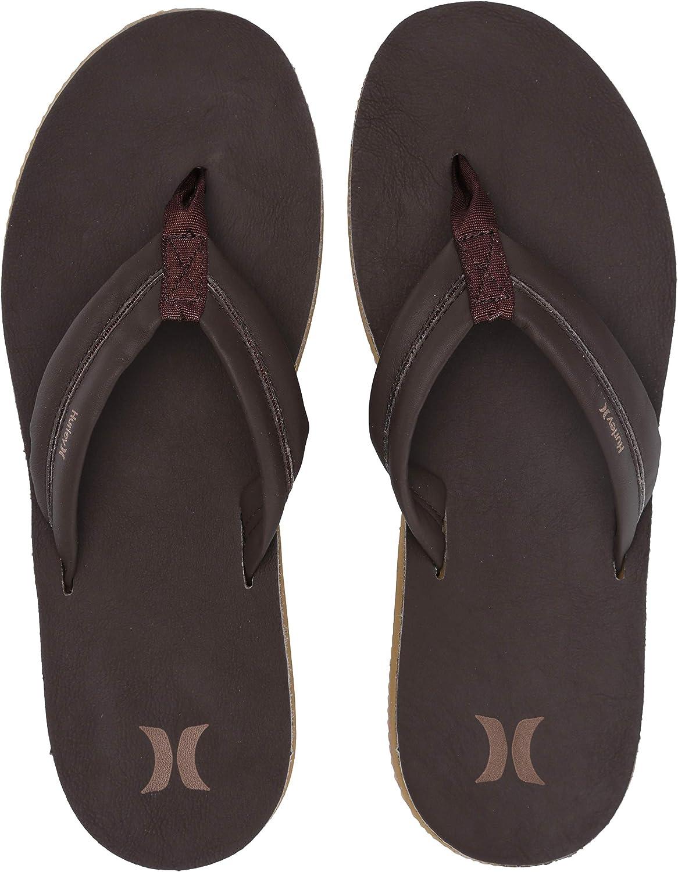 Hurley Men's Nike Lunarlon Lunar Leather Flip Flop Sandal