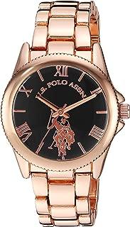 Women's Gold Tone Metal Analog-Quartz Watch with...