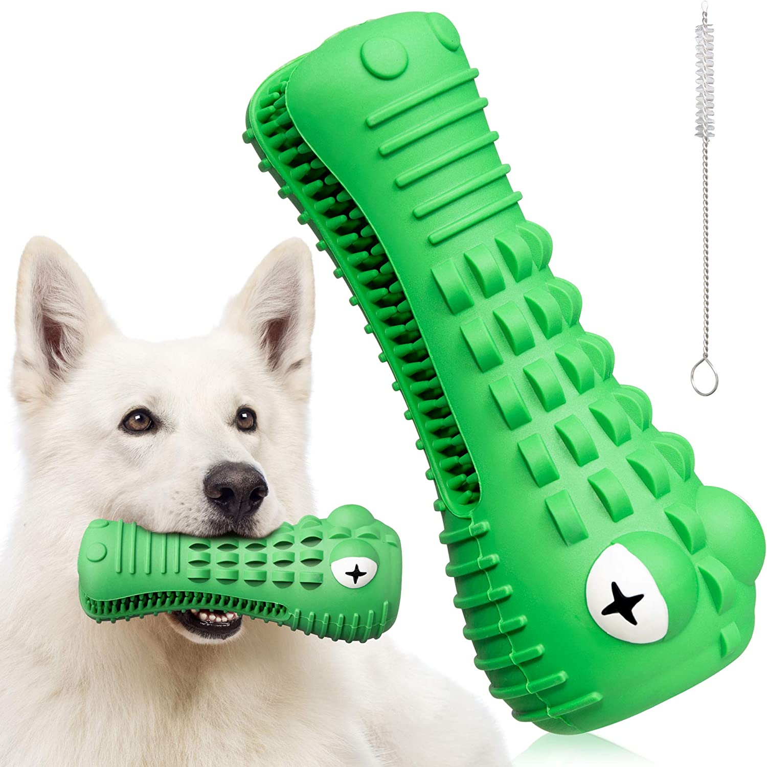 Interactive Fees free!! Dog Chew Toy - Toys Thi Aggressive National products for Chewers