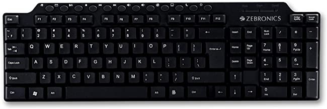 Zebronics Zeb KM2100 Multimedia USB Keyboard