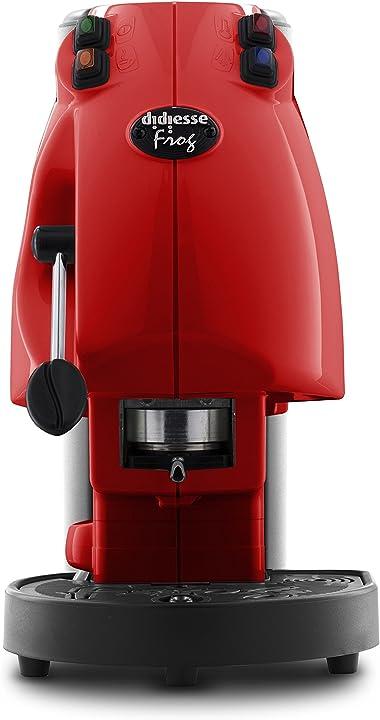 Macchina da caffè a cialde, 650 w, rosso pieno didiesse frog revolution B07B35Z37S