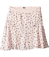 Karl Lagerfeld Kids - Viscose Skirt w/ All Over Ice Cream Print (Big Kids)