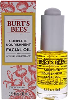 Burt's Bees Complete Nourishment Facial Oil, Anti-Aging Oil, 0.51 Ounces