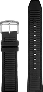 CZ Smart 22mm smartwatch black silicone and stainless steel interchangable watch strap