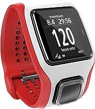 TomTom Multi-Sport Cardio Reloj para Golf, Unisex, Blanco y Rojo, Talla única