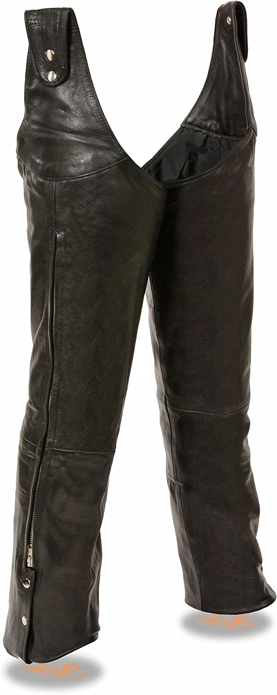 Milwaukee Leather 送料無料限定セール中 Men's Adjustable Beltless Side Ch 日本未発売 Snap