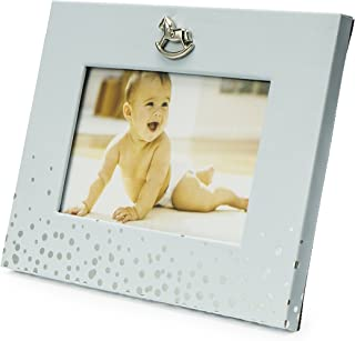 Silver Touch USA Sterling Silver Picture Frame and Booklet Baby Boy