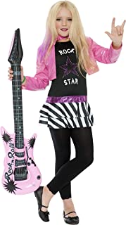 Rock Star Glam Girl Kids Costume