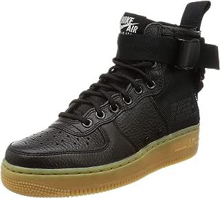 Women's SF AF1 Mid Basketball Shoe 8 Black