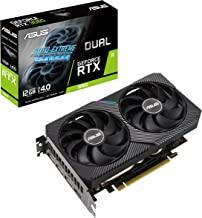 ASUS Dual NVIDIA GeForce RTX 3060 V2 OC Edition 12GB GDDR6 Gaming Graphics Card (PCIe 4.0, 12GB GDDR6 Memory, HDMI 2.1, Di...