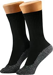 35 Below Socks - 3 pairs - Keep Your Feet Warm and Dry, 3 pairs, Large Black