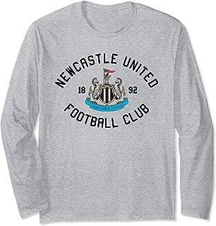 Newcastle United Football Club 1892 Long Sleeve T-shirt Grey