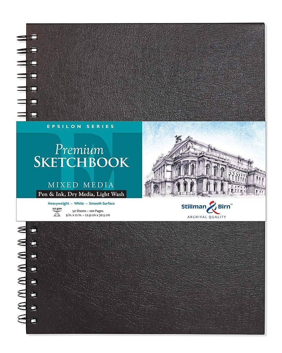 Stillman & Birn Epsilon Series Wirebound Sketchbook, 9