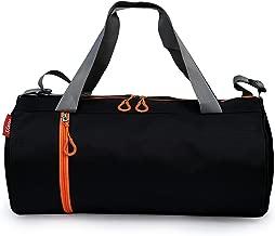 Sfane Men & Women Trendy Black Duffel Gym Bag