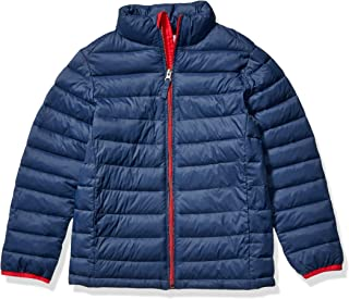 Boy's Lightweight Water-Resistant Packable Puffer Jacket