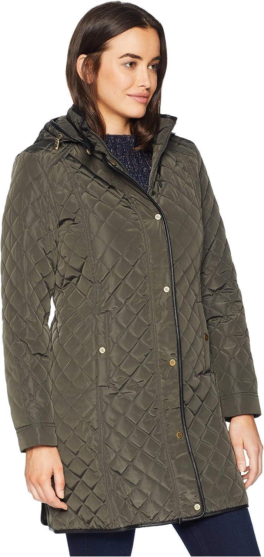 Lauren Ralph Lauren Quilted Hooded Dark Moss Jacket Size XL