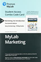MyLab Marketing with Pearson eText -- Combo Access Card -- for Marketing: An Introduction (14th Edition)