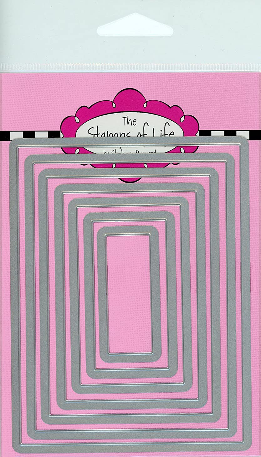 The Stamps of Life Rectangles Die Cuts for Card Making Scrapbooking by Stephanie Barnard -Borders