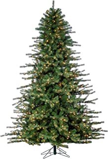 Sterling 7.5' Layered Norfolk Pine Home Decor, 42.5InL x 17.5InW x 18InH, Green