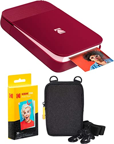 lowest KODAK lowest Smile Instant sale Digital Printer (Red) Soft Case Kit sale