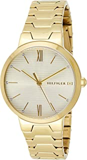 Tommy Hilfiger Womens Quartz Watch, Analog Display and Stainless Steel Strap 1781969