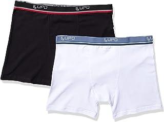 Kit 2 Cuecas Boxer, Lupo, Masculino