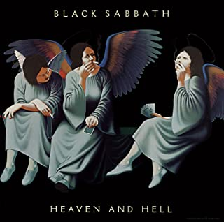 Da Bang Black Sabbath - Heaven & Hell Album Cover Art Print Poster 12 x 12