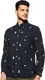 Polo Ralph Lauren Men's OXFORD-3BD BLK PKT AOE Shirts