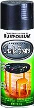 Rust-Oleum 1913830-6 PK Specialty Chalkboard 1913830 Spray Paint 12 oz, Black, 6-Pack,