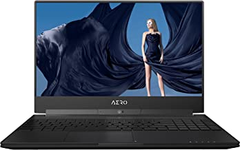"GIGABYTE Aero 15X v8-BK4 15"" Ultra Slim Gaming Laptop 144Hz IPS Anti-Glare FHD Display, i7-8750H, GeForce GTX 1070, 16G RA..."