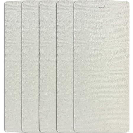 DALIX 82.5 White Vertical Blinds Replacement Slats Sliding Door Window 4 Pack