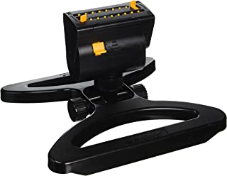 Melnor XT Mini-Turbo Oscillating Sprinkler with One Touch Width Control & Flow Control, and Rotation, waters up to 3,900 sq.ft.